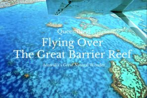 Flying Over The Great Barrier Reef, Queensland